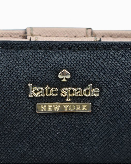 Carteira Kate Spade Bicolor
