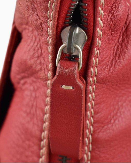 Bolsa Valentino De Couro Vermelha