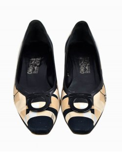 Sapato Salvatore Ferragamo Estampado