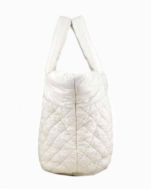 Bolsa Chanel Cocoon Branca
