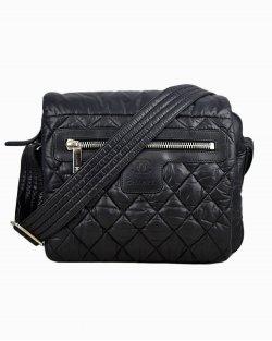 Bolsa Chanel Cocoon Messenger Pequena Preta