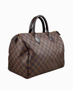 Bolsa Louis Vuitton Speedy 30 Damier Ébene
