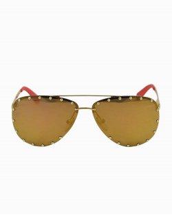 Óculos Louis Vuitton The Party Dourado