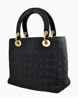 Bolsa Christian Dior Lady Dior Preta
