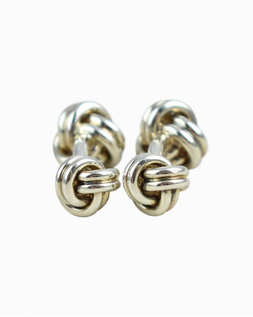 Abotuaduras Tiffany & Co. Knot Prata