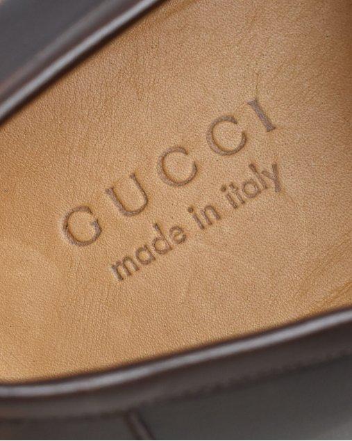 Mocassim Gucci Marrom