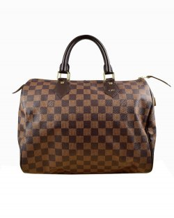 Bolsa Louis Vuitton Speedy 30 Damier Ébene