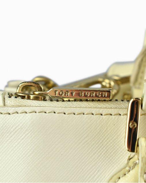 Bolsa Tory Burch de Couro Off White