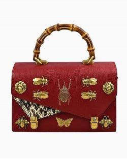 Bolsa Gucci Ottilia Top Handle Vermelha