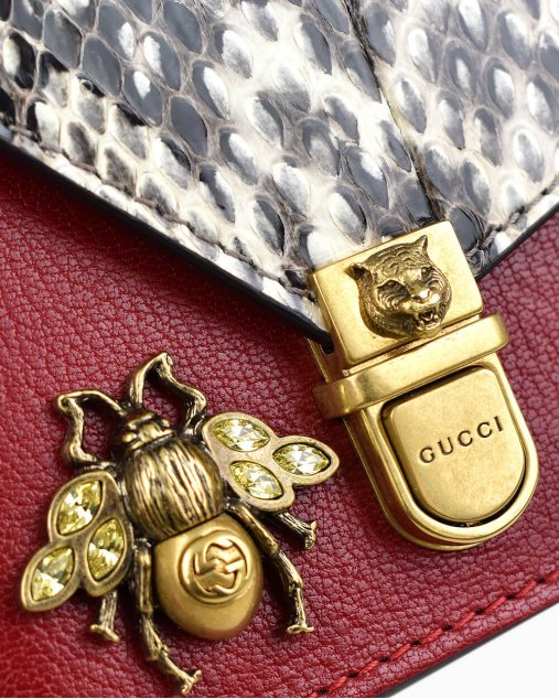 Bolsa Gucci Ottilia Top Handle Vermelha