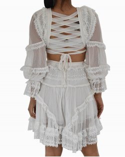 Vestido Zimmerman Bellitude Branco