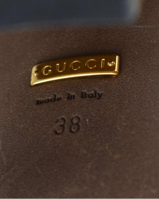 Sandália Gucci Tricolor