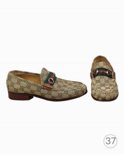Mocassim Gucci GG Horsebit Vintage