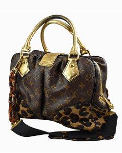 Bolsa Louis Vuitton  Stephen Leopard Monograma Edição Limitada