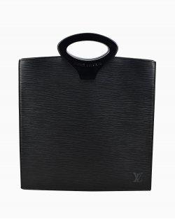 Bolsa Louis Vuitton de Couro Epi Preta  Vintage