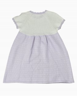 Vestido infantil Janie and Jack Bicolor