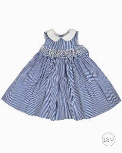 Vestido infantil Ralph Lauren Listrado