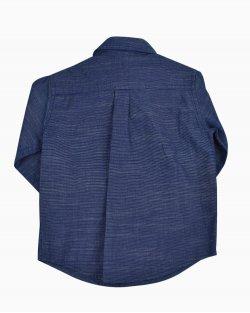 Camisa Janie and Jack infantil azul marinho