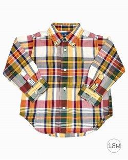 Camisa Xadrez infantil Polo Ralph Lauren