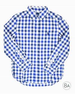 Camisa Xadrez infantil Ralph Lauren