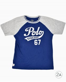 Camiseta  Ralph Lauren Infantil Raglan