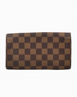 Carteira Louis Vuitton Bifold Purse Damier Ebene
