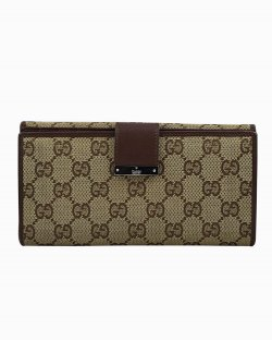 Carteira Gucci GG Continental Monograma