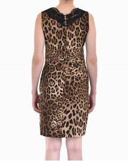 Vestido Dolce & Gabbana animal print