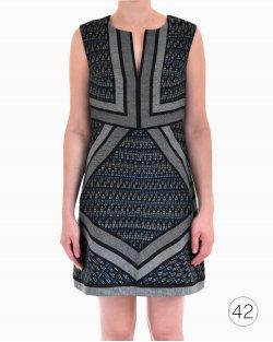 Vestido Diane Von Furstenberg gola V