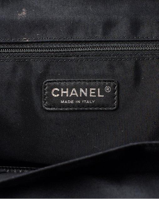 Bolsa Chanel Lona verde