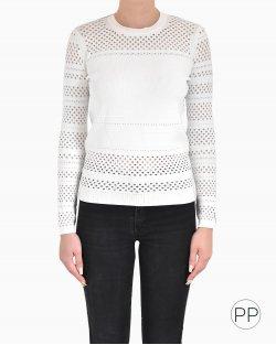 Blusa Diane Von Furstenberg branca
