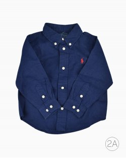 Camisa Infantil Polo Ralph Lauren