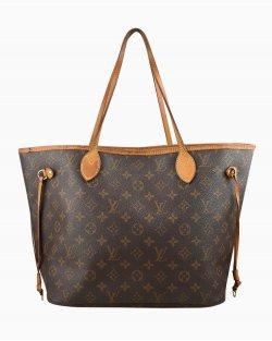 Bolsa Louis Vuitton Neverfull MM Monograma
