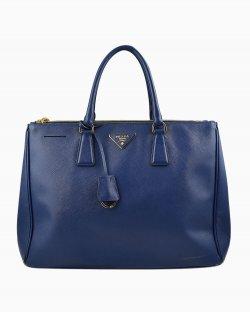 Bolsa Prada Tote Galleria Azul