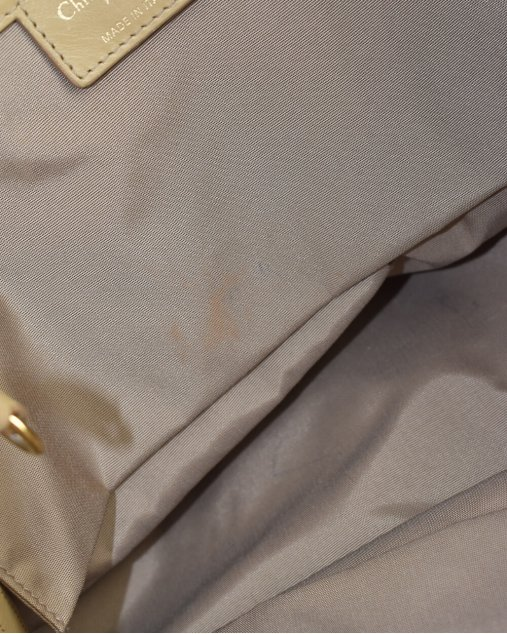 Bolsa Christian Dior Bege
