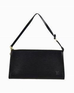 Bolsa Louis Vuitton Pochette de Epi Preta