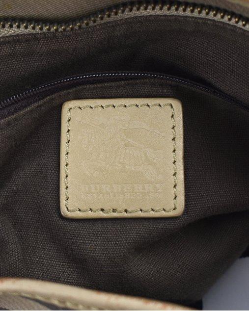 Bolsa Burberry de Couro Monograma