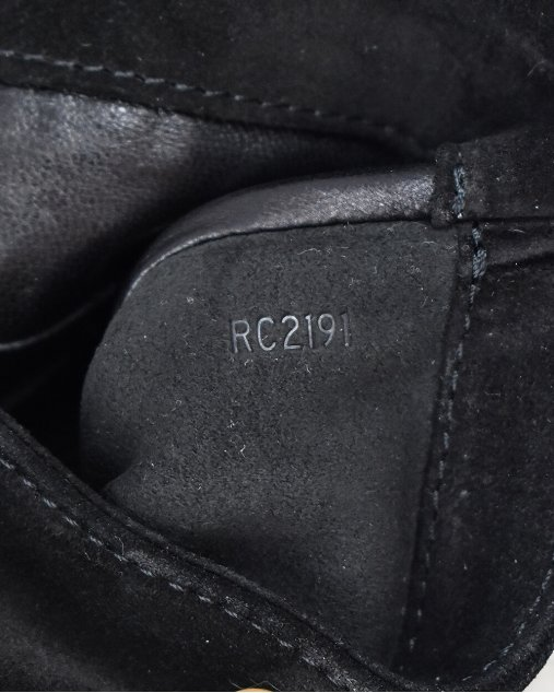 Clutch Louis Vuitton Sofia Coppola de Camurça Preta