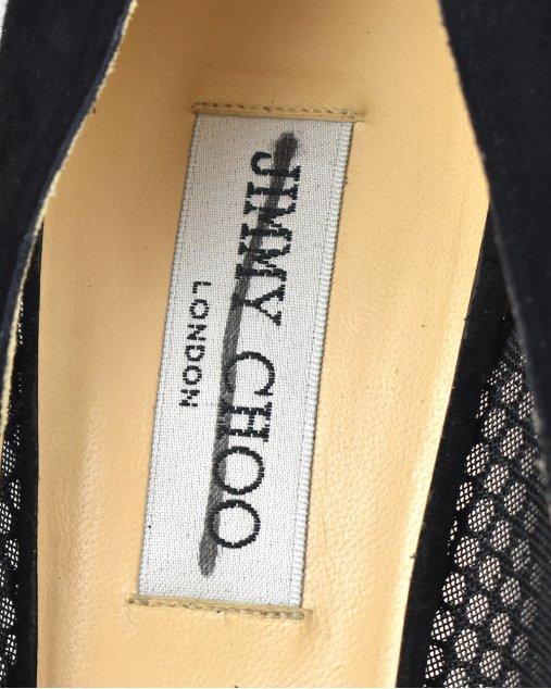 Sapato Jimmy Choo em Tela Preta