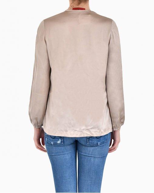 Camisa Carolina Herrera de Seda Rosé