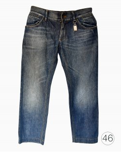 Calça Jeans Dolce & Gabbana Lavagem Escura