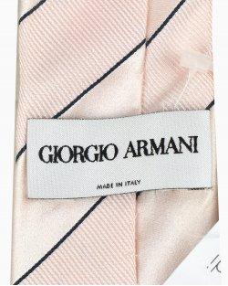 Gravata Giorgio Armani de Seda Rosa