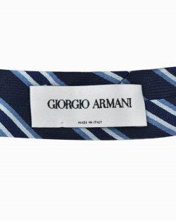 Gravata Giorgio Armani Slim Azul Marinho