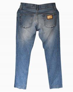 Calça Jeans Dolce & Gabbana Lavagem Clara