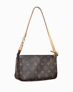Bolsa Louis Vuitton Pochette Acessoires Monograma
