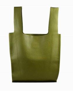 Bolsa Valentino Handbag de Couro Verde