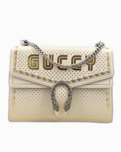 Bolsa Gucci Dionysus Edição Limitada Printed Branca