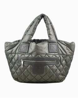 Bolsa Chanel Cocoon Cinza