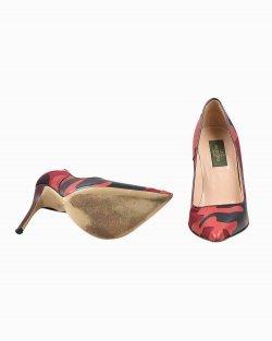 Sapato Valentino de Couro Vermelho