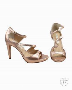 Sandália Diane Von Furstenberg Rose Gold